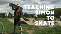 Screenshot from Teaching Simon To Skate